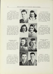 Page 14, 1941 Edition, Dedham High School - Reflections Yearbook (Dedham, MA) online yearbook collection