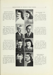 Page 15, 1941 Edition, Dedham High School - Reflections Yearbook (Dedham, MA) online yearbook collection