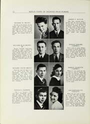 Page 16, 1941 Edition, Dedham High School - Reflections Yearbook (Dedham, MA) online yearbook collection