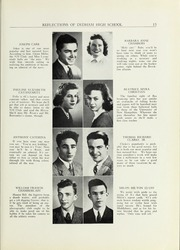 Page 17, 1941 Edition, Dedham High School - Reflections Yearbook (Dedham, MA) online yearbook collection
