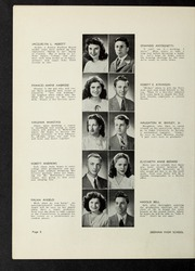 Page 12, 1946 Edition, Dedham High School - Reflections Yearbook (Dedham, MA) online yearbook collection