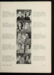 Page 13, 1946 Edition, Dedham High School - Reflections Yearbook (Dedham, MA) online yearbook collection