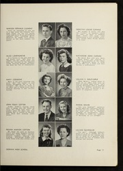 Page 15, 1946 Edition, Dedham High School - Reflections Yearbook (Dedham, MA) online yearbook collection
