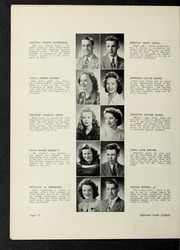 Page 16, 1946 Edition, Dedham High School - Reflections Yearbook (Dedham, MA) online yearbook collection