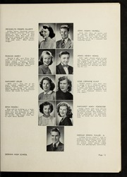 Page 17, 1946 Edition, Dedham High School - Reflections Yearbook (Dedham, MA) online yearbook collection