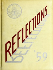 Page 1, 1959 Edition, Dedham High School - Reflections Yearbook (Dedham, MA) online yearbook collection