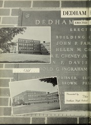 Page 6, 1960 Edition, Dedham High School - Reflections Yearbook (Dedham, MA) online yearbook collection