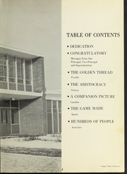 Page 9, 1960 Edition, Dedham High School - Reflections Yearbook (Dedham, MA) online yearbook collection