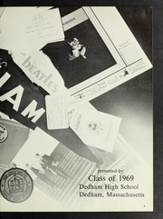 Page 7, 1969 Edition, Dedham High School - Reflections Yearbook (Dedham, MA) online yearbook collection