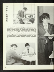 Page 8, 1972 Edition, Dedham High School - Reflections Yearbook (Dedham, MA) online yearbook collection