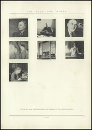 Page 10, 1939 Edition, Classical High School - Blue and White Yearbook (Springfield, MA) online yearbook collection