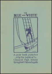 Page 3, 1939 Edition, Classical High School - Blue and White Yearbook (Springfield, MA) online yearbook collection