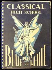 1942 Edition, Classical High School - Blue and White Yearbook (Springfield, MA)