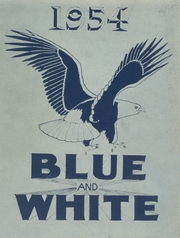 1954 Edition, Classical High School - Blue and White Yearbook (Springfield, MA)