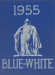 1955 Edition, Classical High School - Blue and White Yearbook (Springfield, MA)