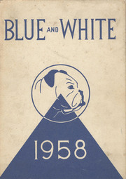 1958 Edition, Classical High School - Blue and White Yearbook (Springfield, MA)