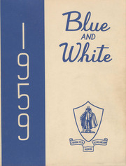 1959 Edition, Classical High School - Blue and White Yearbook (Springfield, MA)