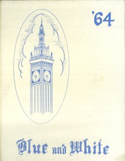 1964 Edition, Classical High School - Blue and White Yearbook (Springfield, MA)