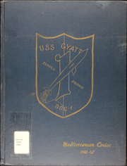 Page 1, 1962 Edition, Gyatt (DDG 1) - Naval Cruise Book online yearbook collection