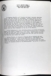 Page 12, 1962 Edition, Gyatt (DDG 1) - Naval Cruise Book online yearbook collection