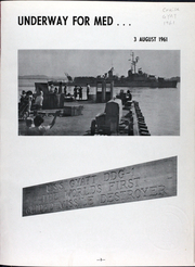 Page 4, 1962 Edition, Gyatt (DDG 1) - Naval Cruise Book online yearbook collection
