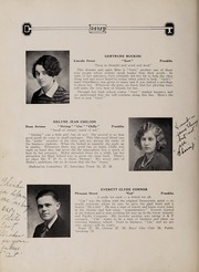 Page 26, 1928 Edition, Franklin High School - Oskey Yearbook (Franklin, MA) online yearbook collection