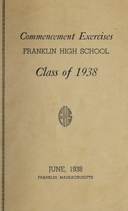 Page 3, 1938 Edition, Franklin High School - Oskey Yearbook (Franklin, MA) online yearbook collection