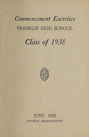 Page 5, 1938 Edition, Franklin High School - Oskey Yearbook (Franklin, MA) online yearbook collection