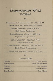 Page 7, 1938 Edition, Franklin High School - Oskey Yearbook (Franklin, MA) online yearbook collection