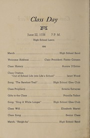 Page 8, 1938 Edition, Franklin High School - Oskey Yearbook (Franklin, MA) online yearbook collection
