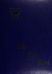 1945 Edition, Hyde Park High School - Blue Book Yearbook (Boston, MA)