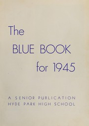 Page 7, 1945 Edition, Hyde Park High School - Blue Book Yearbook (Boston, MA) online yearbook collection