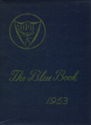 1953 Edition, Hyde Park High School - Blue Book Yearbook (Boston, MA)