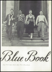 Page 7, 1953 Edition, Hyde Park High School - Blue Book Yearbook (Boston, MA) online yearbook collection