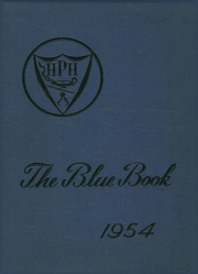 Page 1, 1954 Edition, Hyde Park High School - Blue Book Yearbook (Boston, MA) online yearbook collection