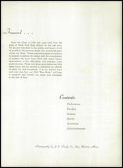 Page 5, 1954 Edition, Hyde Park High School - Blue Book Yearbook (Boston, MA) online yearbook collection