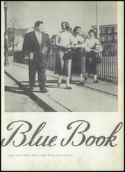 Page 7, 1954 Edition, Hyde Park High School - Blue Book Yearbook (Boston, MA) online yearbook collection