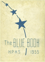 1955 Edition, Hyde Park High School - Blue Book Yearbook (Boston, MA)
