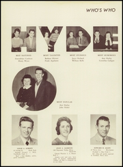 Page 16, 1957 Edition, Hyde Park High School - Blue Book Yearbook (Boston, MA) online yearbook collection