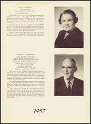 Page 9, 1957 Edition, Hyde Park High School - Blue Book Yearbook (Boston, MA) online yearbook collection
