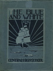 Page 1, 1929 Edition, Central High School - Pnalka Yearbook (Springfield, MA) online yearbook collection