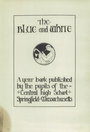 Page 5, 1930 Edition, Central High School - Pnalka Yearbook (Springfield, MA) online yearbook collection