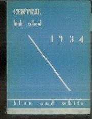 1934 Edition, Central High School - Pnalka Yearbook (Springfield, MA)