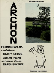 Page 5, 1979 Edition, Framingham North High School - Archon Yearbook (Framingham, MA) online yearbook collection