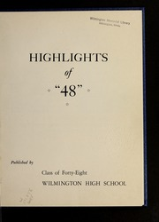 Page 7, 1948 Edition, Wilmington High School - Hourglass Yearbook (Wilmington, MA) online yearbook collection