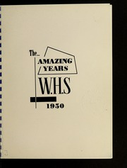 Page 7, 1950 Edition, Wilmington High School - Hourglass Yearbook (Wilmington, MA) online yearbook collection