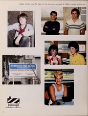 Page 16, 1986 Edition, Wilmington High School - Hourglass Yearbook (Wilmington, MA) online yearbook collection