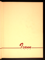Page 3, 1949 Edition, Iona College - ICANN Yearbook (New Rochelle, NY) online yearbook collection