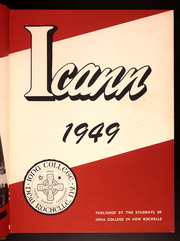 Page 7, 1949 Edition, Iona College - ICANN Yearbook (New Rochelle, NY) online yearbook collection