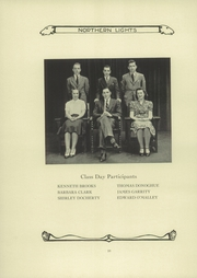 Page 14, 1939 Edition, North High School - Northern Lights Yearbook (Worcester, MA) online yearbook collection